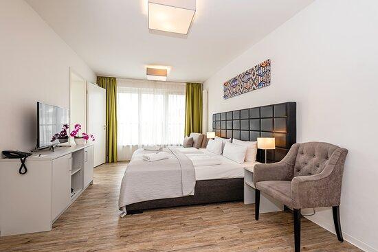 Kingsize apartment room 1