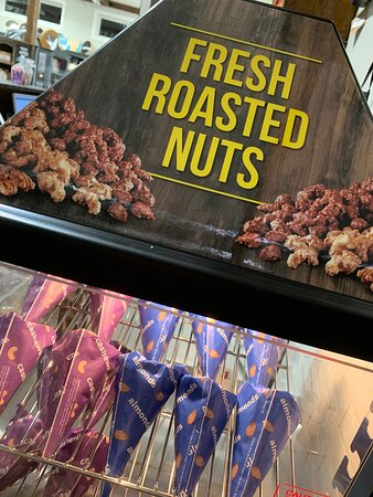 Fresh Roasted Nuts - need I say more? :)