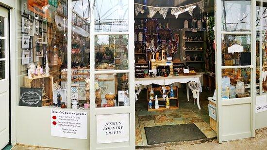 Acle, UK: our shop entrance