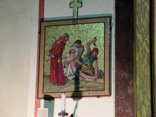 Mosaico della Via Crucis