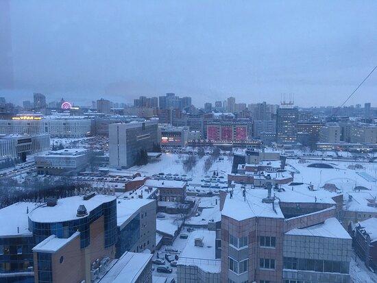 Perm, Russia: Пермь с 14-го этажа...👻