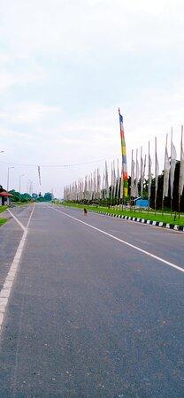 Jaigaon, Ấn Độ: asian highway