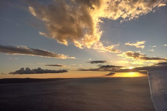 Romantic Sunset Champagne -Private- Maui Air Tour: Intimate...