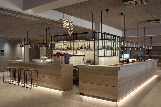 Scandic Kokstad bar reception area