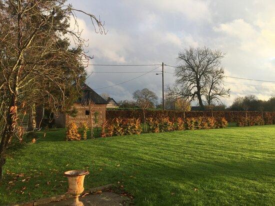 Sainte-Marie-des-Champs, צרפת: Couleurs d'automne