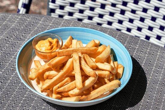 Fries with Mala Mayo