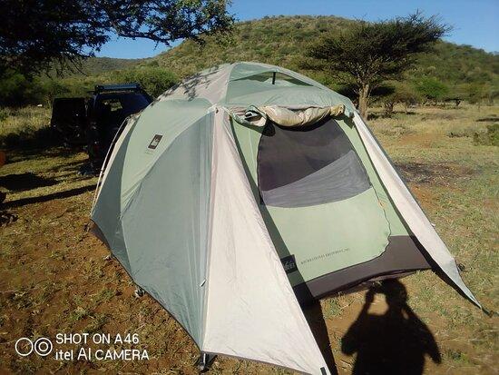 Enjoy camping  at the leeward side of Ngong Hills.