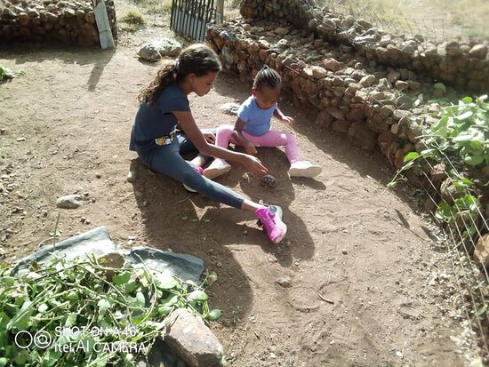 Ngong, Kenya: A perfect place for children to come close with nature.....
