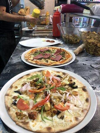 Beaucoup de choix pour les pizzas 🍕