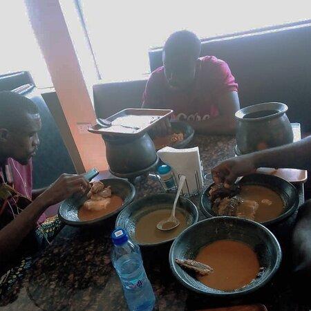 Winneba, Ghana: Heritage rest stop