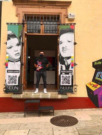 Primera exposición en galería privada del talentoso artista Mexicano Efe de  Froy.   #NuunEspaciodeArte #VisitaNuun #ArtistasMexicanos