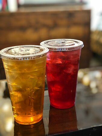 Iced Tea and Passion fruit
