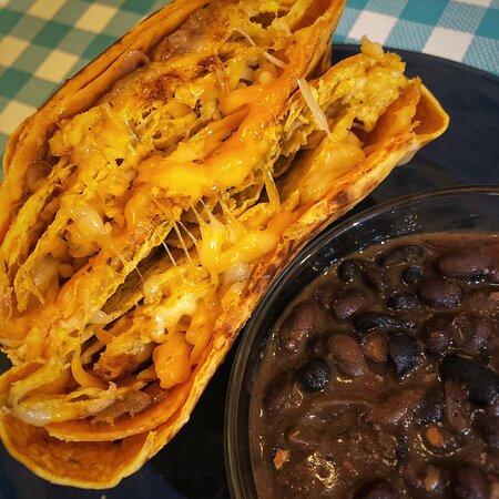 Crunch Quesadilla