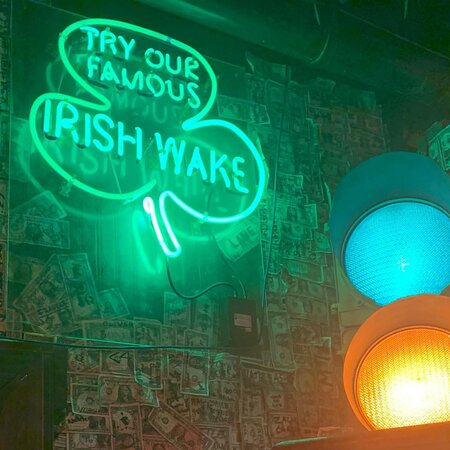 Try an Irish Wake at McGuire's 😋