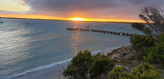 Southend, Úc: Sun rise
