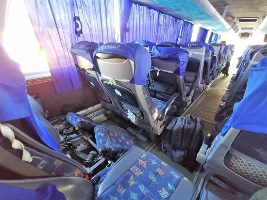 Broken seats