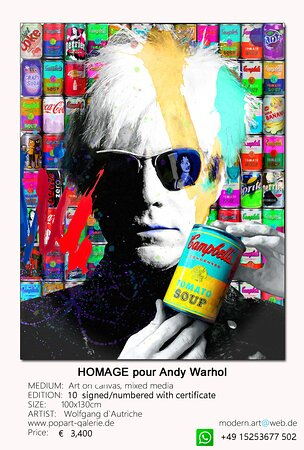 Homage a Andy Warhol
