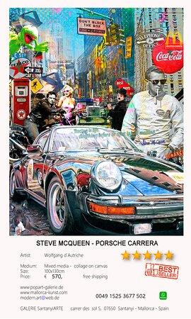 Steve McQueen - Porsche Carrera