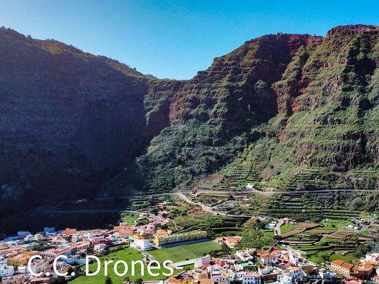 Pueblo de Agulo, en la Isla de La Gomera
