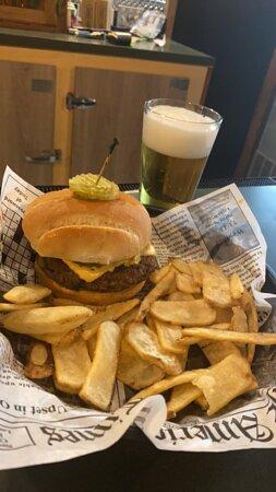 Tavern Burger and Fries
