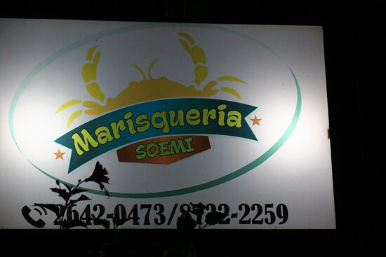 Cobano, Costa Rica: Look closely for this sign