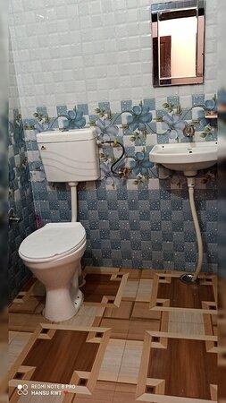 Barkot, India: Bathroom