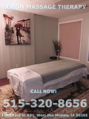 Lemon Massage Therapy is an Asian massage spa designed to help you reduce stress, relieve build up chronic pain, and increase the overall quality of your life! We specialize in multiple affordable, customized treatments to meet the needs of a wide variety of clients in a peaceful setting! We are proud to be providing Authentic Asian Massage therapy services in our beloved community of West Des Moines!