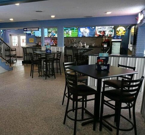 Our Beautiful NEW Inside Bar