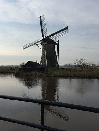 Kinderdijk, Pays-Bas : 小孩堤防