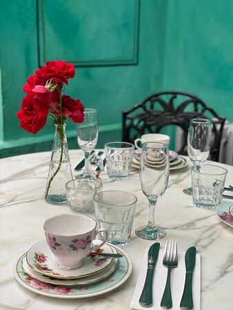 Gorgeous old English crockery for High Teas