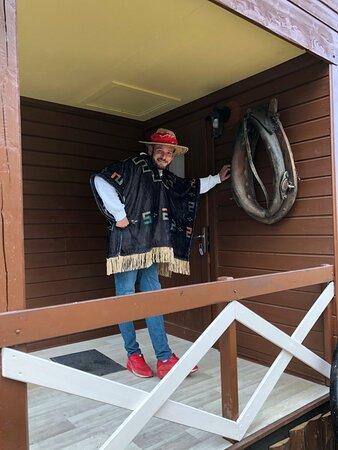 les premiers arrivés en mode cowboy !!!!