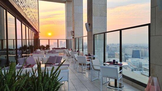 Sora- Terrace- Sunset views