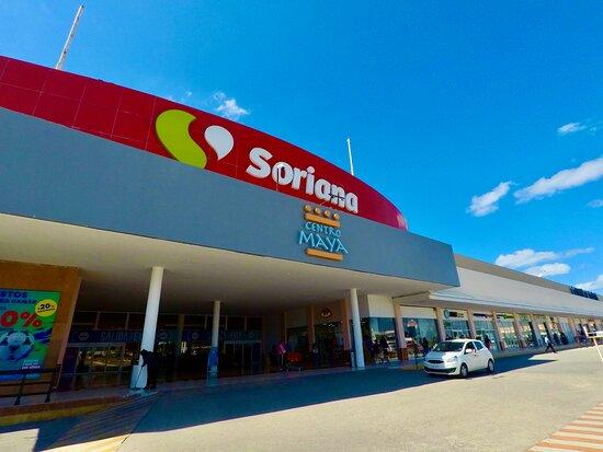 Soriana Grocey store at Centro Maya shopping center