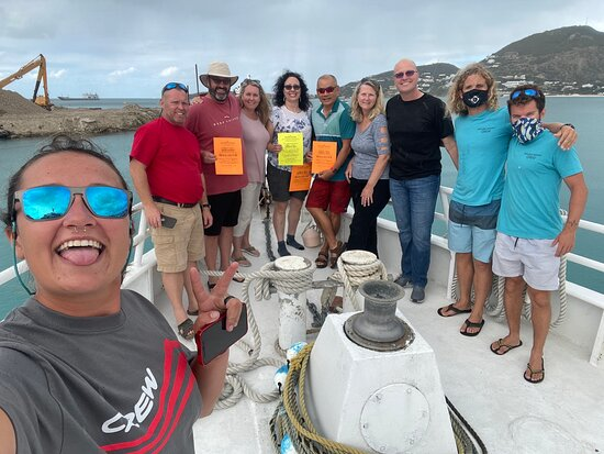 Exit Photo with the crew!