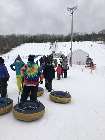 Line for tubing