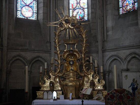 Dans la cathédrale !