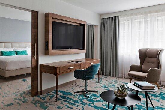 Presidential Suite - Sitting Area & Bedroom
