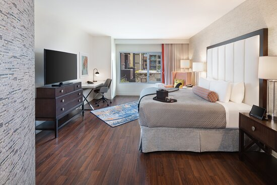New Deluxe ADA King Room with Hardwood Floors on Lower Level