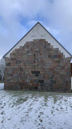 Hornslet, Danmark: Kirken set fra vest