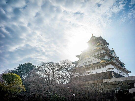 Osaka castle, Osaka's landmark