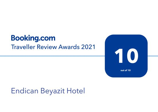 Endican Beyazıt Hotel  Boooking.com Traveller Review Awards 2021