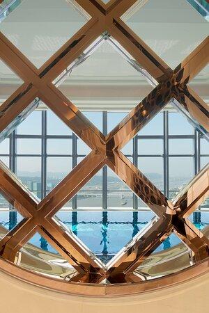 Athletic Club Swimming Pool Window