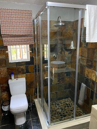 Double bedroom en-suite bathroom shower only.