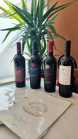 Nos vins italiens