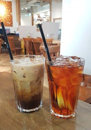 凍咖啡、凍檸茶