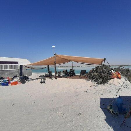 Oman: مخيم بر الحكمان  Camping in Bar AL Hkman