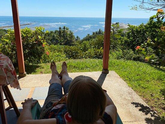 Esterillos Oeste, Costa Rica: Vista espectacular desde las casas