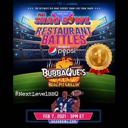 Winner of the 2021 Shaq Bowl Restaurant Battle!