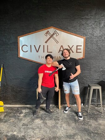 Civil Axe Throwing Ybor City