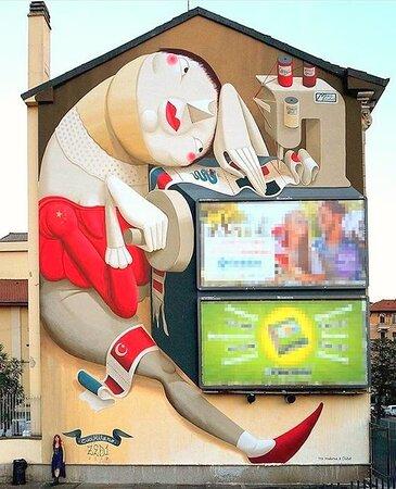 Milan, Italy: Street Art 1